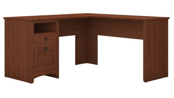 "L Shaped Desks Bush Furniture 60""W L Shaped Desk with Drawers"