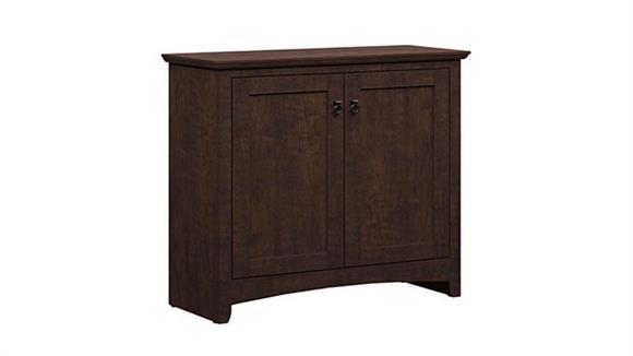Storage Cabinets Bush Furniture 2 Door Low Storage Cabinet