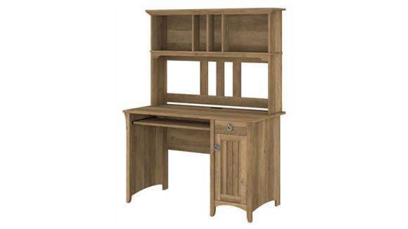 "Computer Desks Bush Furniture 48"" W Computer Desk with Hutch"