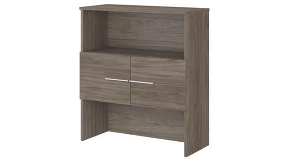 """Hutches Bush Furniture 36""""W Bookcase Hutch"""