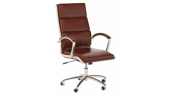 Office Chairs Bush Furniture High Back Leather Executive Desk Chair