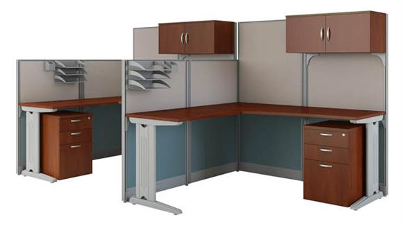 Workstations & Cubicles Bush Furniture Set of 2 L Workstations