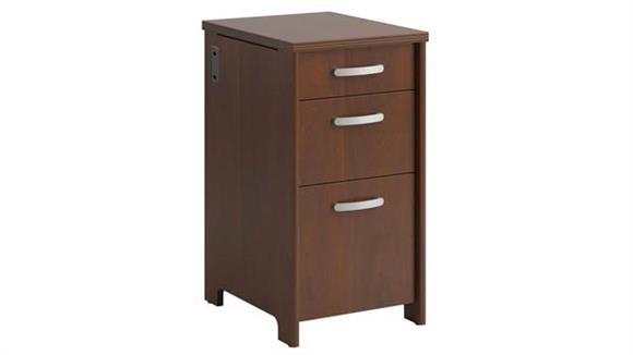 File Cabinets Vertical Bush Furniture 3 Drawer Pedestal