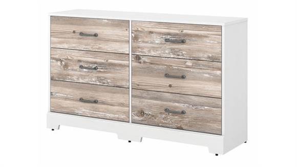 Dressers Bush Furniture Tip Guard 6 Drawer Dresser
