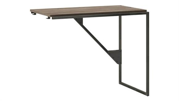 "Desk Parts & Accessories Bush Furniture 37""W Industrial Desk Return"