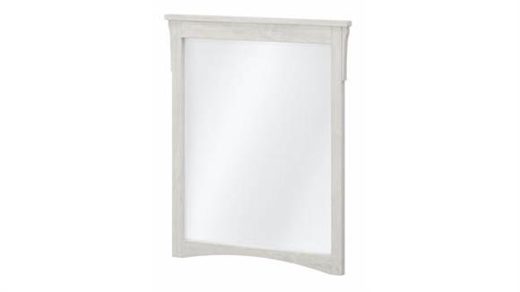 "Mirrors Bush Furniture 24""W Wall Mounted Bathroom Mirror"
