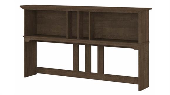 """Hutches Bush Furniture 60"""" W Hutch for L-Shaped Desk"""