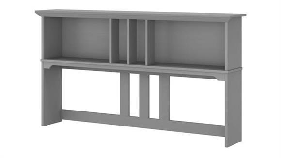 """Hutches Bush Furniture 60""""W Hutch for L Shaped Desk"""