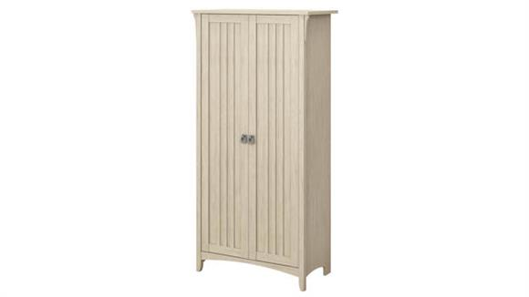 "Storage Cabinets Bush Furniture 63""H Storage Cabinet with Doors"