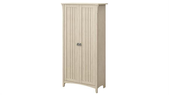 Storage Cabinets Bush Furniture Tall Storage Cabinet with Doors