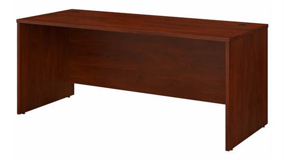 """Computer Desks Bush Furniture 72"""" W x 30"""" D Office Desk"""