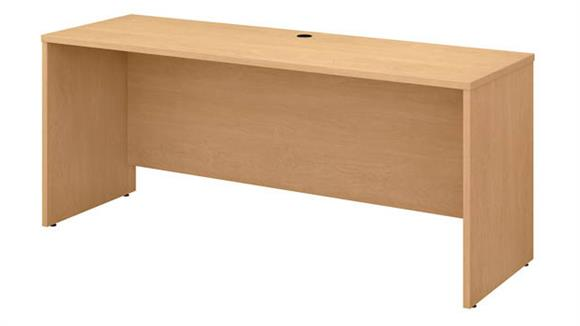 "Office Credenzas Bush Furniture 72"" W x 24"" D Credenza Desk"