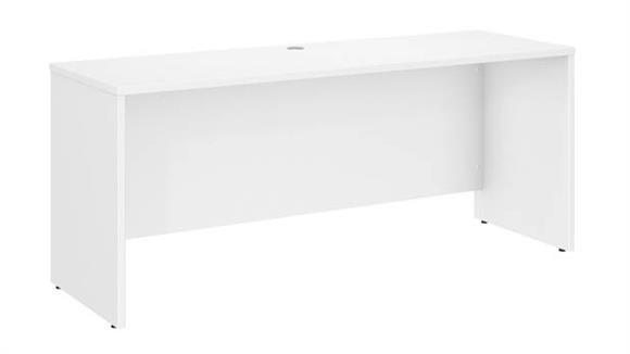 "Office Credenzas Bush Furniture 72""W x 24""D Credenza Desk"