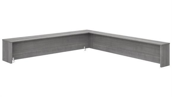 "Desk Parts & Accessories Bush Furniture 72""W L-Shaped Reception Desk Shelf"