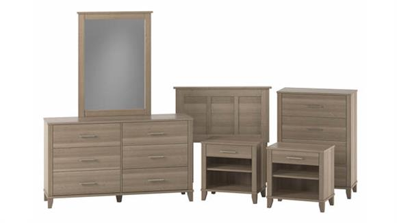 Bedroom Sets Bush Furniture Twin Size 6 Piece Bedroom Set