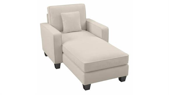 Chaise Lounge Bush Furniture Chaise Lounge with Arms