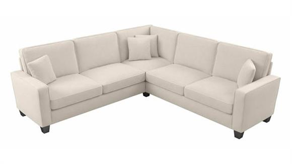 """Sectional Sofas Bush Furniture 98""""W L-Shaped Sectional Couch"""