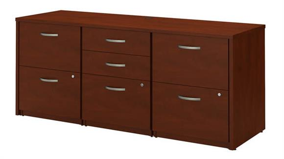 Office Credenzas Bush Furniture Storage Credenza