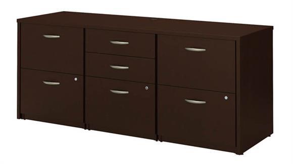 Office Credenzas Bush Furniture Storage Credenza