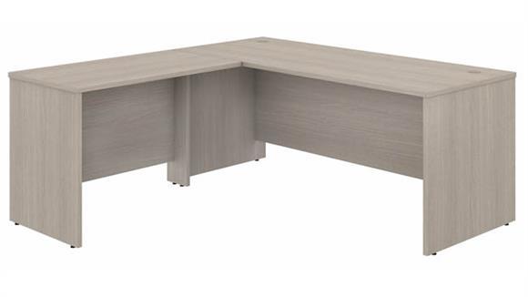 """L Shaped Desks Bush Furniture 72"""" W x 30"""" D L-Shaped Desk with 42"""" W Return"""