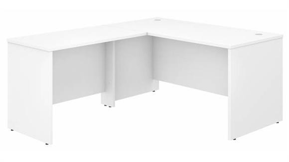 """L Shaped Desks Bush Furniture 60"""" W x 30"""" D L-Shaped Desk with 42"""" W Return"""