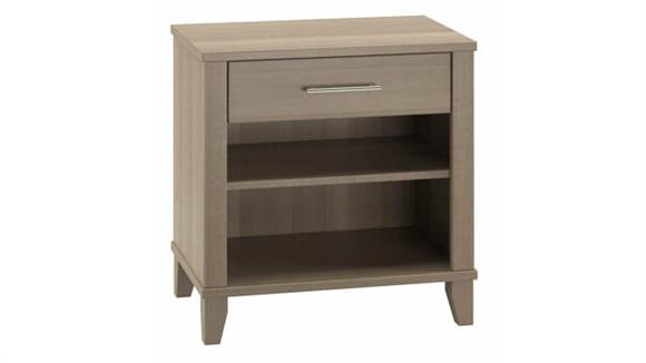 Night Stands Bush Furniture Nightstand with Drawer