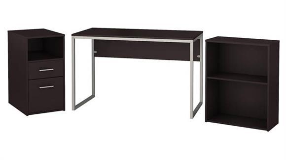 Computer Desks Bush Furniture Computer Desk with File Cabinet and Bookcase