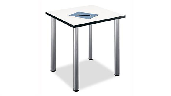 Conference Tables Bush Furniture White Spectrum Square Conference Table