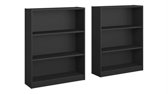 Bookcases Bush Furniture 3 Shelf Bookcase - Set of 2