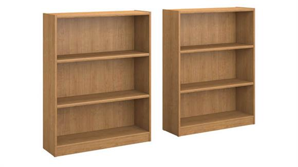 Bookcases Bush Furniture 3 Shelf Bookcase - Set of 2
