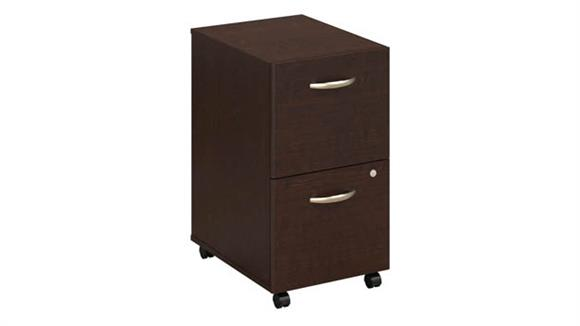 Mobile File Cabinets Bush Furniture 2 Drawer Mobile Pedestal - Assembled