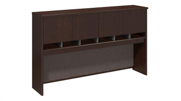 "Hutches Bush Furniture 72""W 4 Door Hutch"