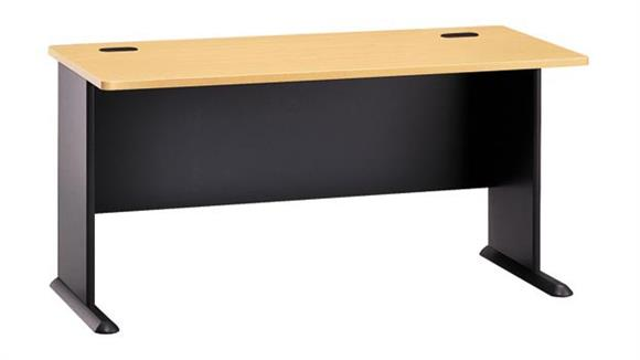 "Modular Desks Bush Furniture 60"" Modular Desk"