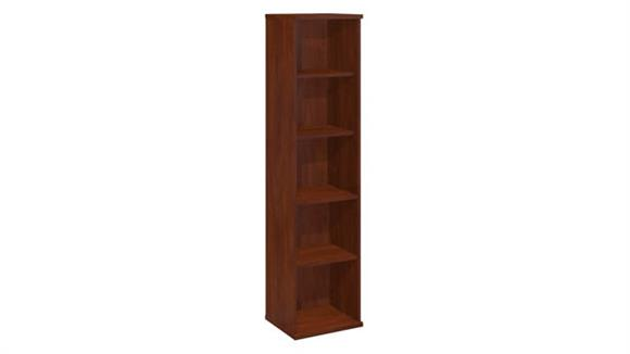 "Bookcases Bush Furniture 18""W 5 Shelf Bookcase"