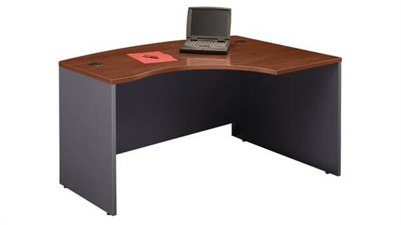 Executive Desks Bush Furniture Right L Bow Front Desk Shell