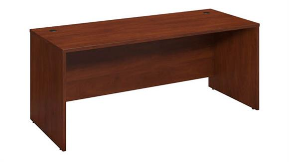"Executive Desks Bush Furniture 72""W x 30""D Desk Shell"