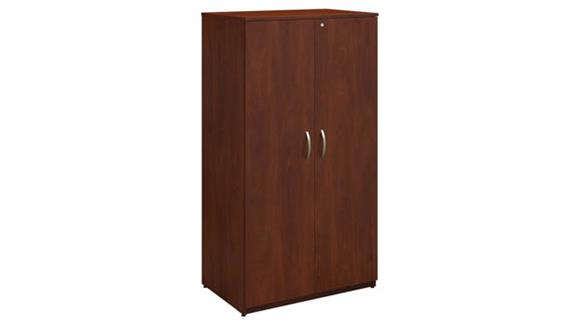 "Storage Cabinets Bush Furniture 36""W Storage Wardrobe Tower"