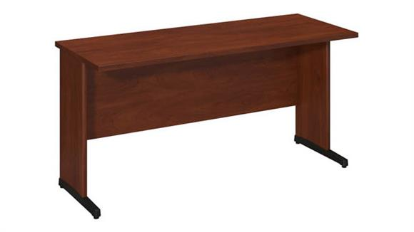 "Executive Desks Bush Furniture 60""W x 24""D C-Leg Desk"