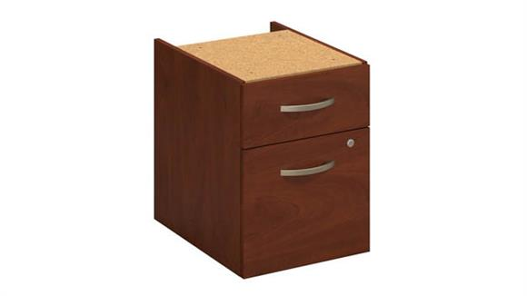 File Cabinets Vertical Bush Furniture 3/4 Pedestal