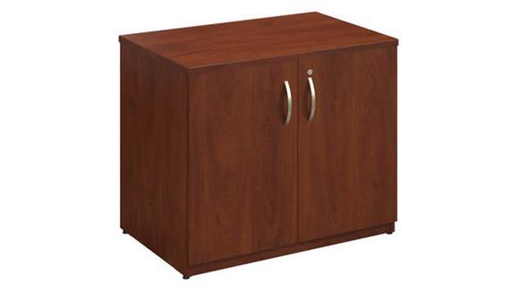 "Storage Cabinets Bush Furniture 36""W Storage Cabinet Assembled"