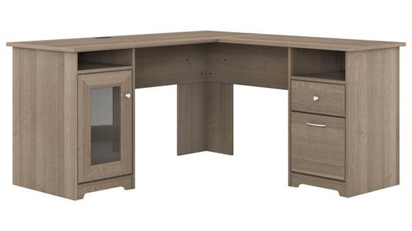 "L Shaped Desks Bush Furniture 60"" W L-Shaped Computer Desk"