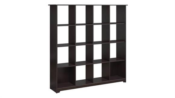 Bookcases Bush Furniture 16 Cube Bookcase