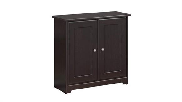 Storage Cabinets Bush Furniture 2 Door Low Storage Cabinet