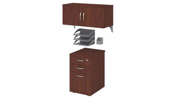 Storage Cabinets Bush Furniture Storage and Accessory Kit