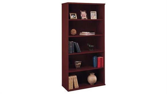 Bookcases Bush Furniture Open Double Bookcase