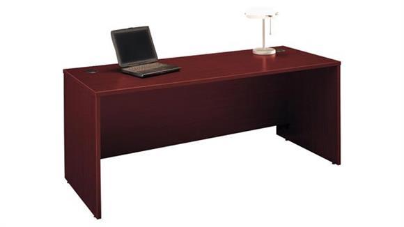 "Executive Desks Bush Furniture 72"" W x 30""D Office Desk"