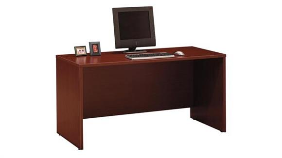 "Executive Desks Bush Furniture 60""W x 24""D Desk/Credenza/Return"