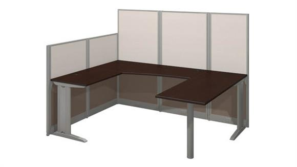 Workstations & Cubicles Bush Furniture U Shaped Workstation