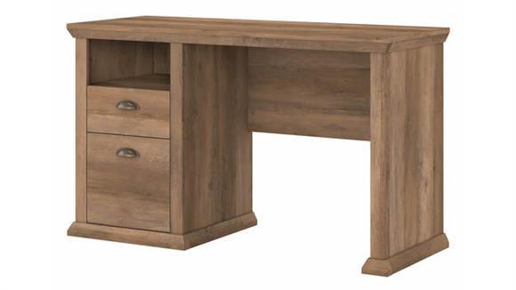 "Computer Desks Bush Furniture 50"" W Home Office Desk with Storage"