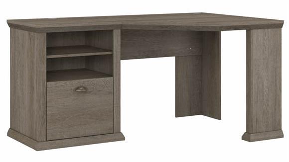 """Corner Desks Bush Furniture 60"""" W Corner Desk with Storage"""